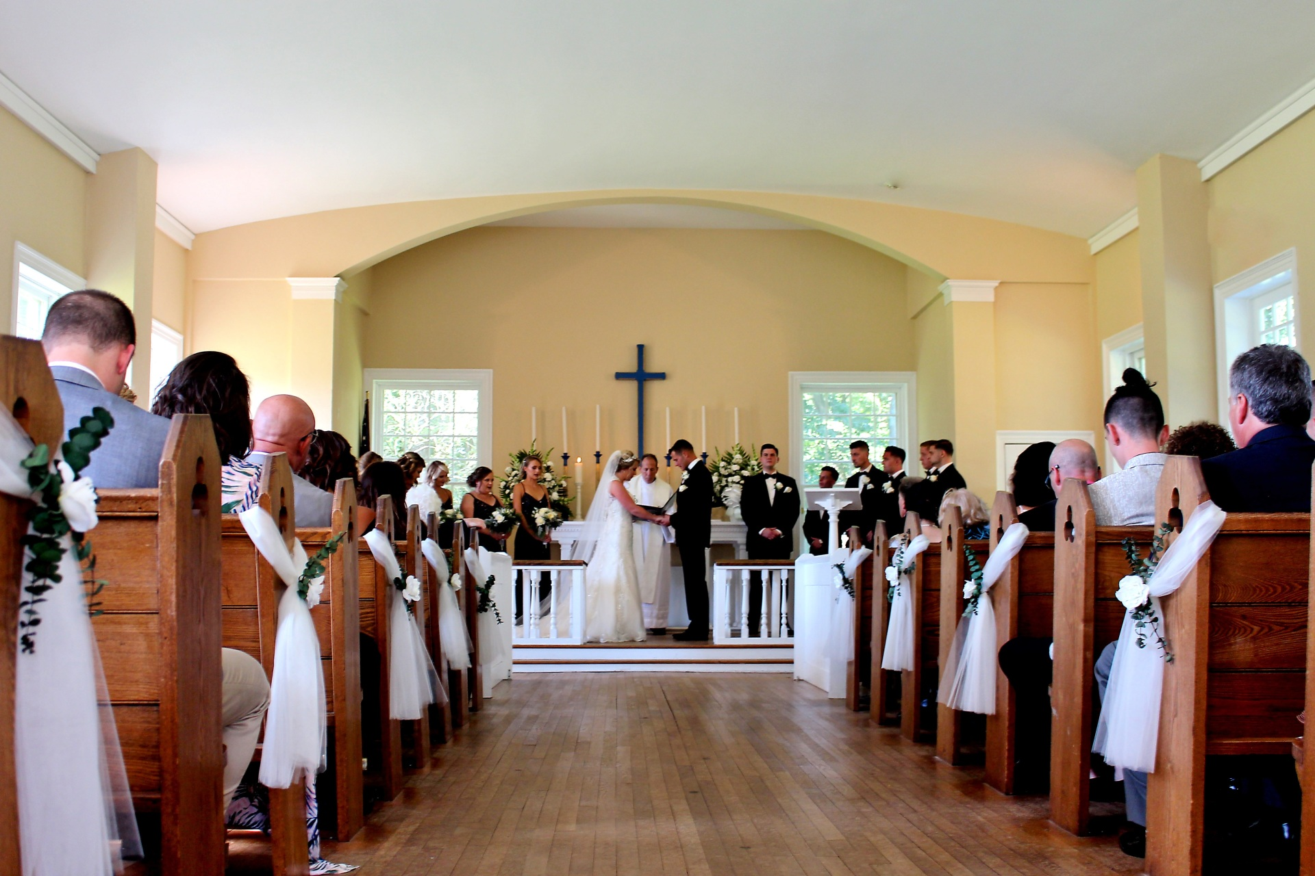 Allaire Chapel Wedding Ceremony
