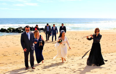 Bridal Music Beach Wedding Ceremony, The Breakers, Spring Lake  NJ