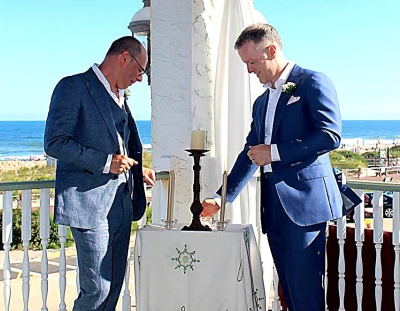 Wedding Day Celebration at the Jersey Shore with Bridal Music