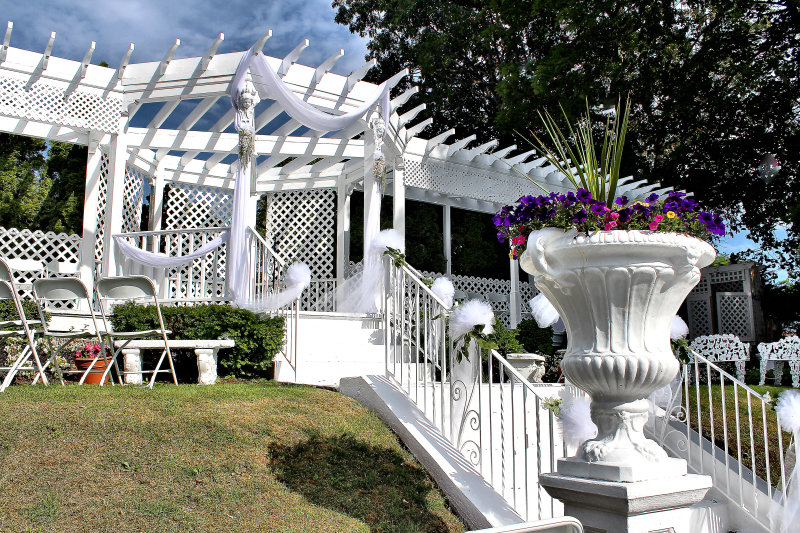 Wedding Ceremony at Doolan's Shore Club, Spring Lake NJ