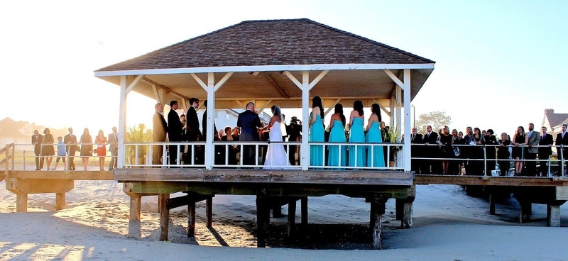 Spring Lake NJ Boardwalk Wedding Ceremony