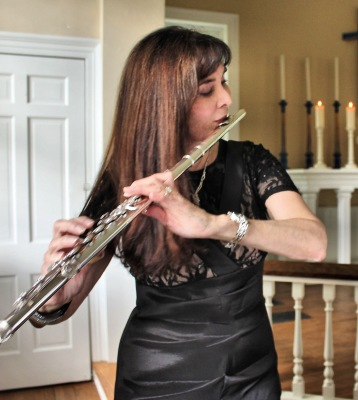Flutist Michele of Bridal Music
